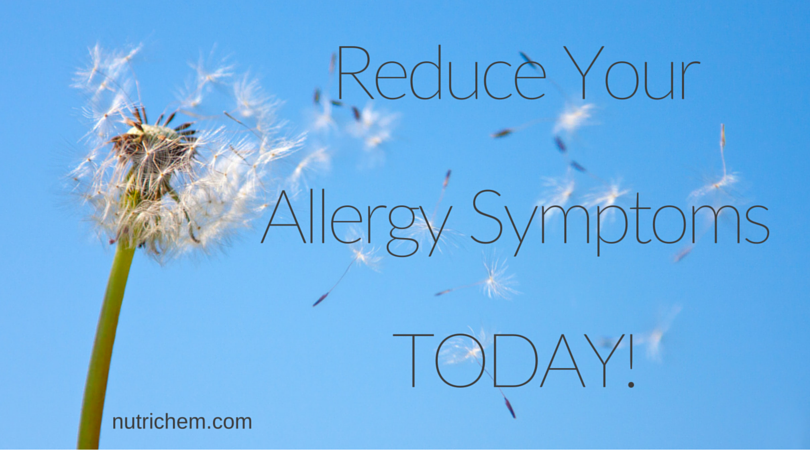 Reduce Your Allergy Symptoms TODAY!