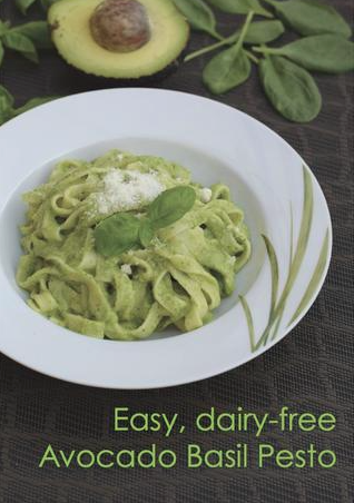 Avocado Basil Pesto