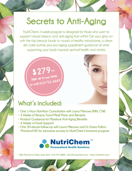 Secrets to Anti-Aging: A 4-Week Nutrition Program