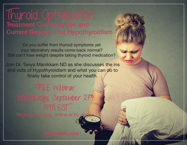 Thyroid Optimization: Treatment Controversies and Current Research for Hypothyroidism