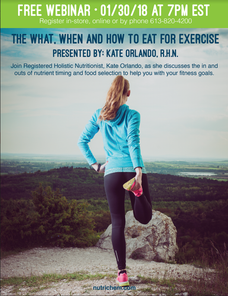 The What, When, and How to Eat For Exercise.