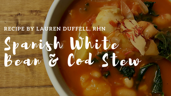 Spanish White Bean & Cod Stew