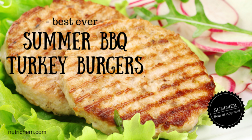Summer BBQ Turkey Burgers