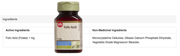 Life Folic Acid