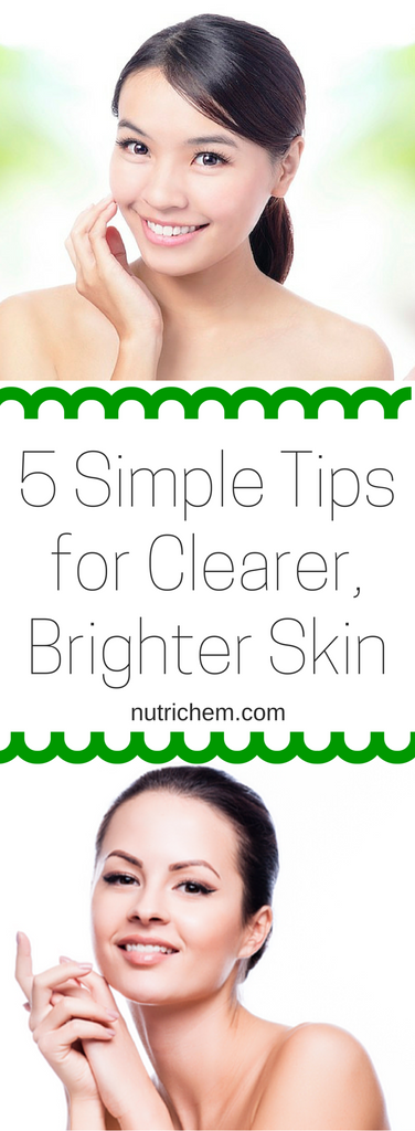 5 Simple Tips for Clearer, Brighter Skin