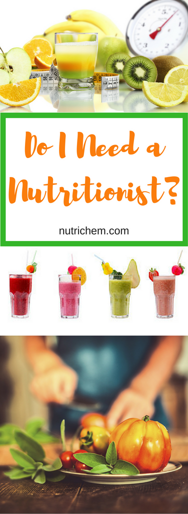 Do I Need a Nutritionist? NutriChem RHN Julia Davie has the answer!