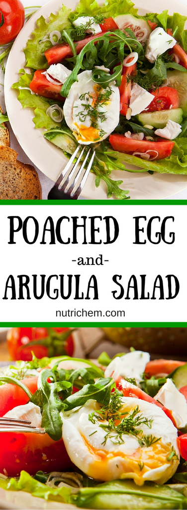 Poached Egg and Arugula Salad
