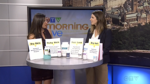 Dr. Emma on CTV Morning Live - Skin Hair Health for New Year