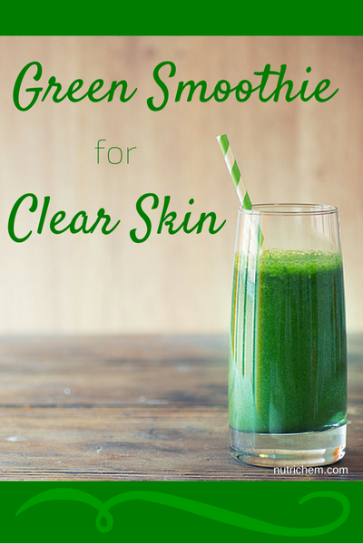 Green Smoothie for Clear Skin