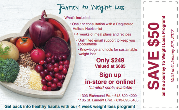 Journey to Weight Loss - with NutriChem Nutritionists - Save $50