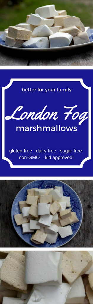 London Fog marshmallows - NutriChem recipe that is better for your family's health than the conventional alternative!
