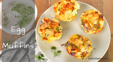 On-The-Go Egg Muffins - NutriChem Recipe