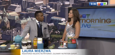 Laura Mierzwa on CTV Morning Live