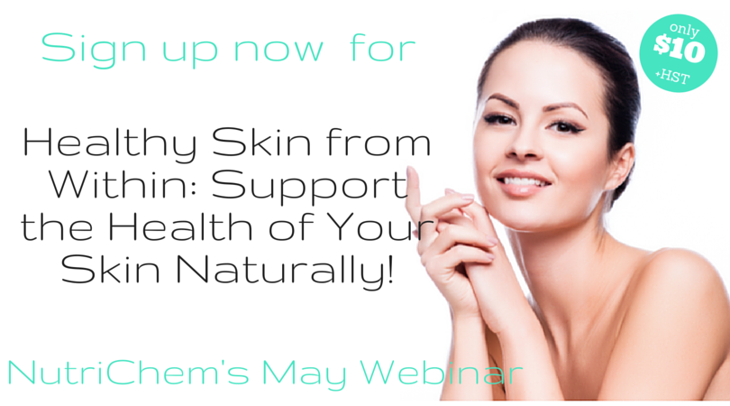 Sign up for Healthy Skin from Within Webinar