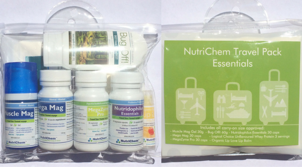NutriChem Travel Pack Essentials
