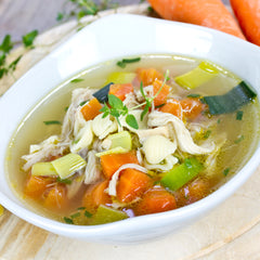 Uplifting Broth and Chicken Soup Recipe