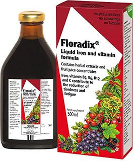 Floradix Liquid Iron and Vitamins Formula