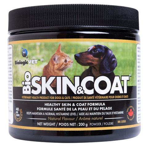 BioSKIN & COAT - Healthy Skin, Coat, and Allergy Support for Pets