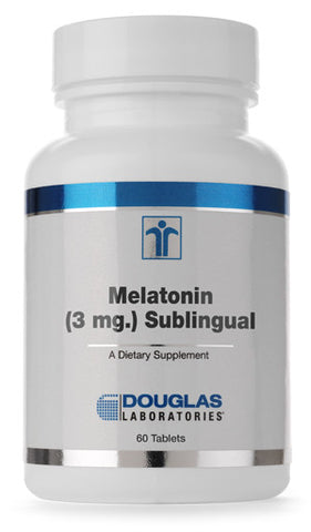 Melatonin (3 mg) Sublingual Tablets