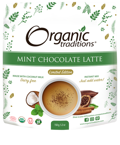 Organic Mint Chocolate Latte Limited Edition