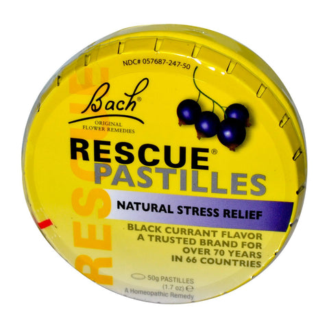 Rescue Pastilles - Black Currant Flavour