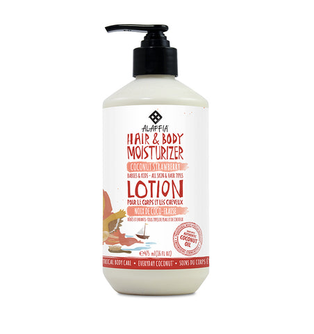 Kids Hair & Body Lotion - Coconut Strawberry