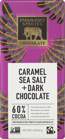 Caramel, Sea Salt + Dark Chocolate