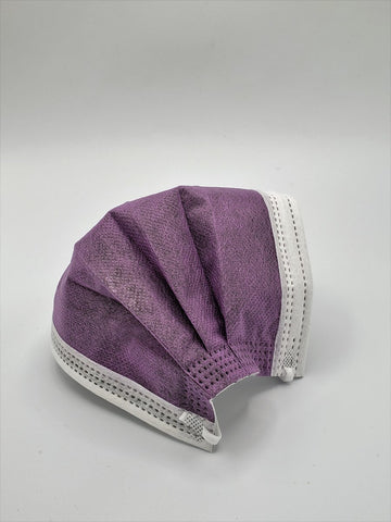 4-Ply Non-Medical Masks - Eggplant
