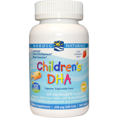 Children's DHA Chewable Soft Gels