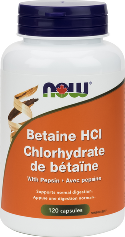Betaine HCl with Pepsin