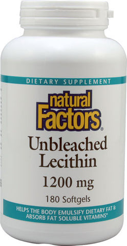 Unbleached Lecithin 1200 mg