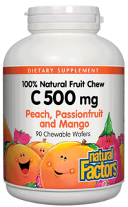 C 500 mg Natural Fruit Chew