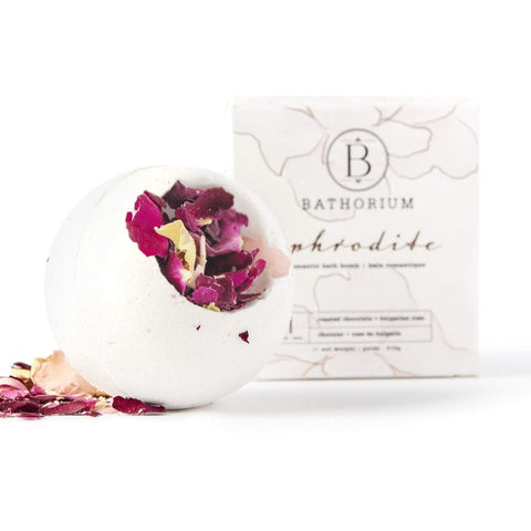 Aphrodite Chocolate & Bulgarian Rose Bath Bomb
