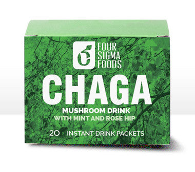Chaga Superfood Mushroom Drink Mix with Rose Hip