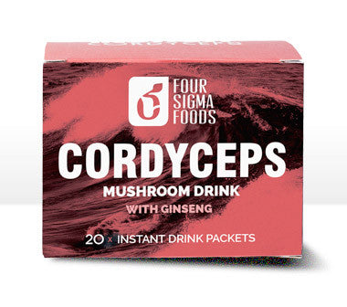 Cordyceps Superfood Mushroom Drink Mix with Panax Ginseng