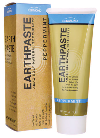 Earthpaste: Amazingly Natural Toothpaste - Peppermint Flavour