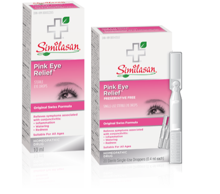 Pink Eye Relief