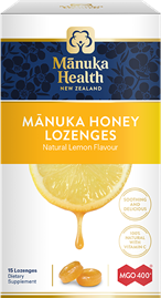 Manuka Honey & Lemon Lozenges