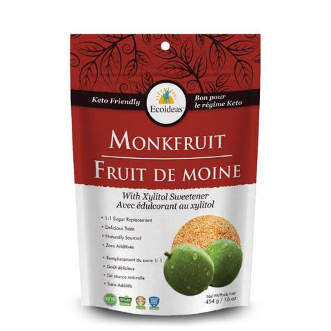 Monk Fruit with Xylitol Sweetener