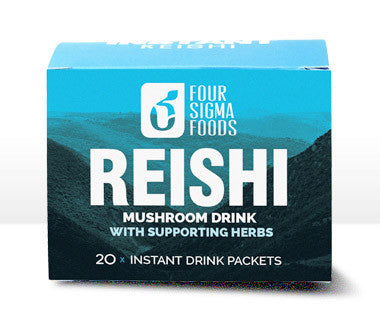 Reishi Superfood Mushroom Drink Mix with Supporting Herbs