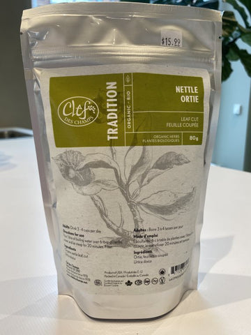 Organic Nettle Leaf Loose Leaf Tea