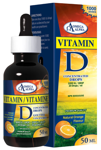 Vitamin D3 Concentrated Drops