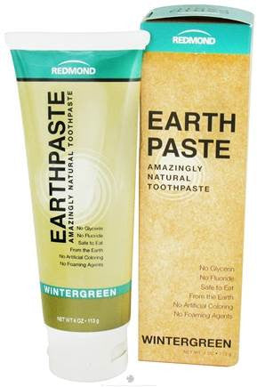 Earthpaste: Amazing Natural Toothpaste - Wintergreen Flavour