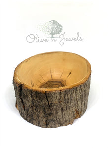 Natural Olive Wood Bowl