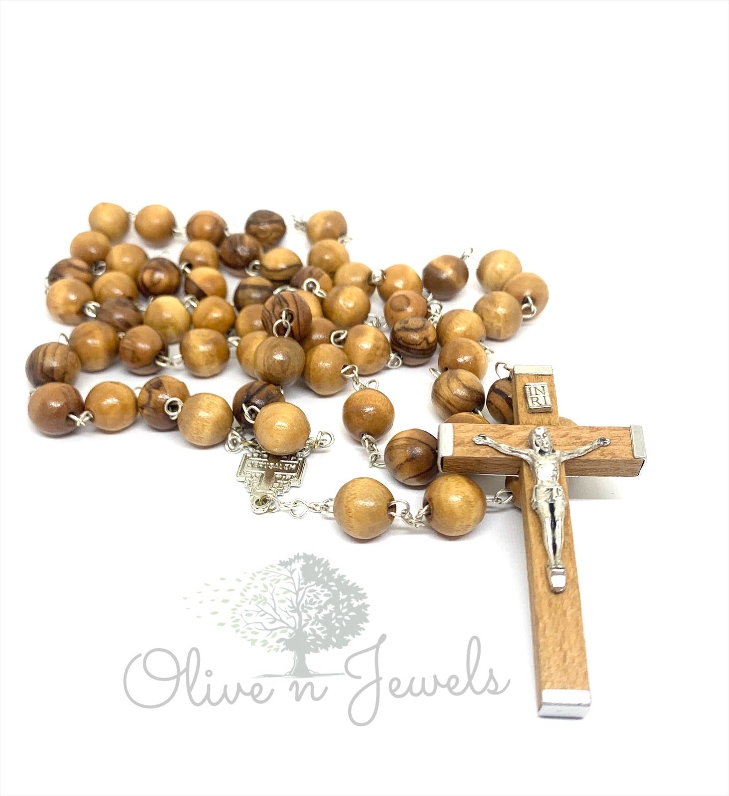 Rosary Olive Wood Large