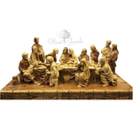 Last Supper Masterpiece Carving Olive Wood