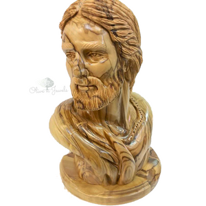 Face Carving Olive Wood