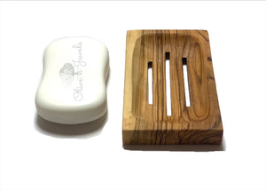 Soap Dish Olive Wood