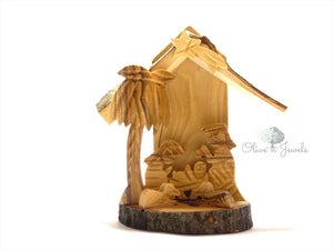 Natural Olive Wood Nativity
