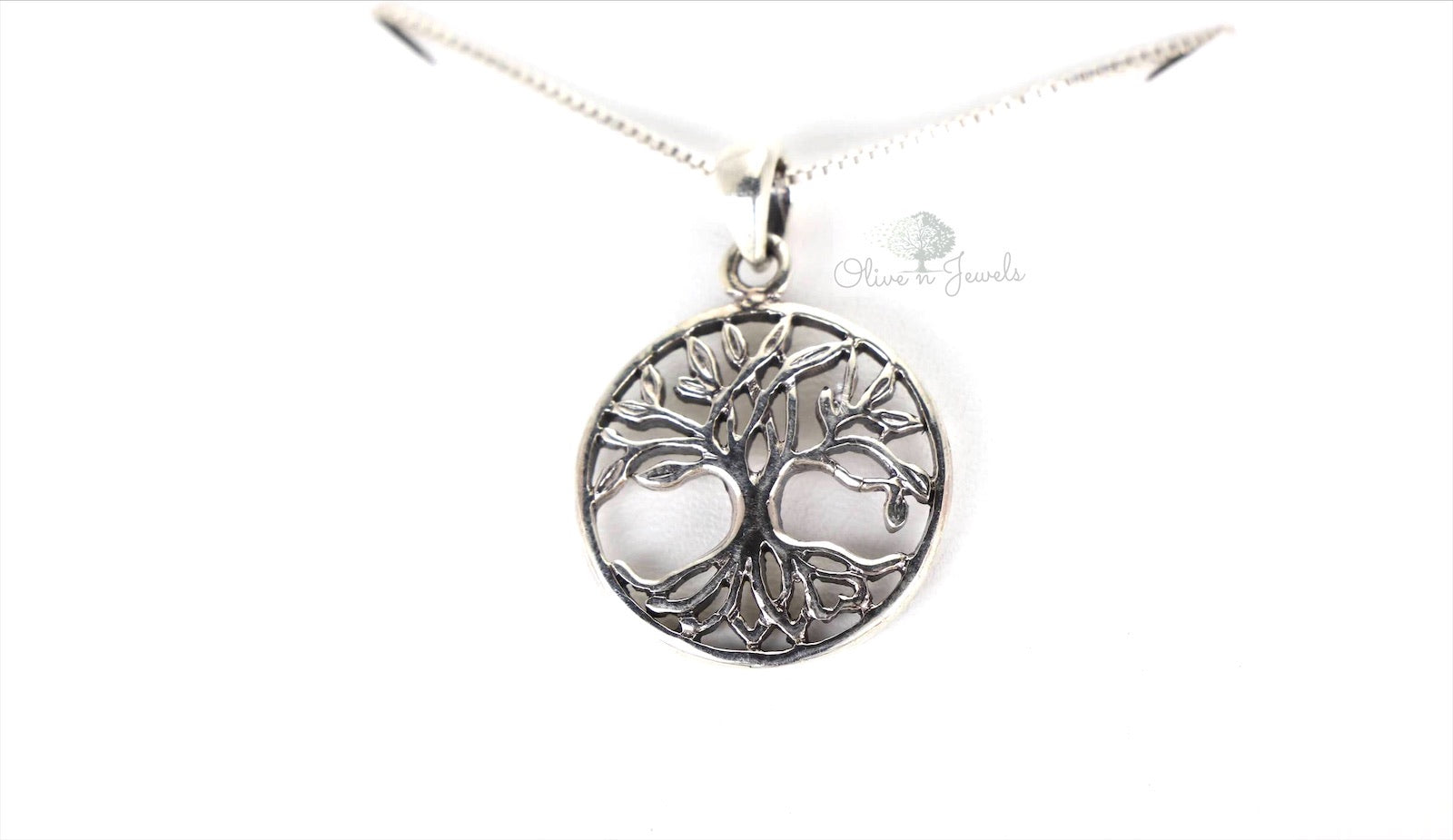 Tree Of Life Pendant Silver